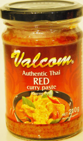 VALCOM RED CURRY 210G