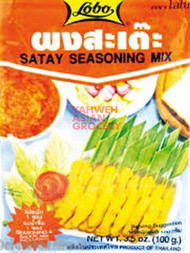 LOBO SATAY SEASONING 100G