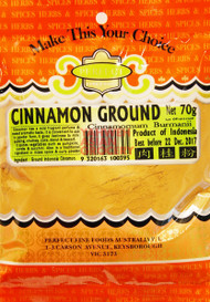 PFF CINNAMON POWDER 70G