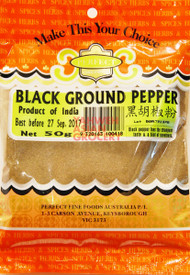 PFF BLACK GROUND PEPPER 50G