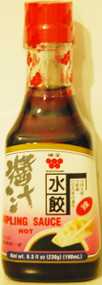 WEICHUAN DUMPLING SAUCE (HOT) 190ML