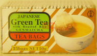 GENMAICHA GREEN TEA WITH ROASTED RICE TEA BAG 50G