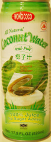 WONG COCO COCONUT JUICE 520ML