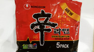 NONGSHIM RAMYUN HOT & SPICY 5 PACK