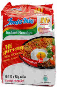 EXPORT INDO MIE MEE GORENG 10 PACK