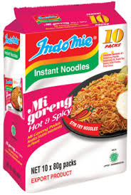 EXPORT INDO MIE MEE GORENG HOT & SPICY 10PK