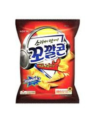 LOTTE KOKAL CORN SPICY & SWEET 77G