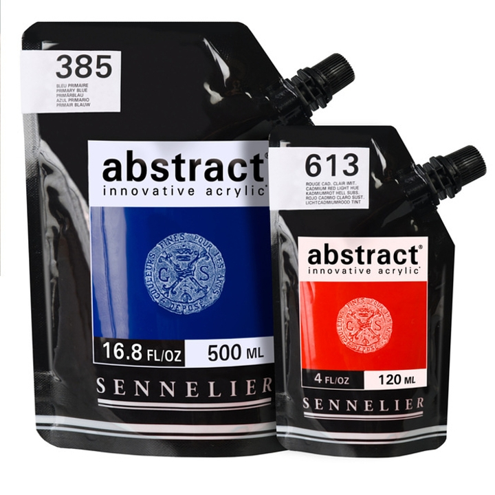 Sennelier Abstract 130ml and 500ml Acrylics
