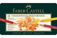 Faber Castell Polychromos Artist Coloured Pencils 12 Set
