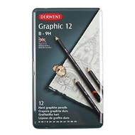 Derwent Graphic Technical Set 12 Pencils (Hard)