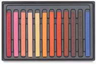 Conte A Paris  Flat Plastic Box Set Crayons - 12 Portrait Colours