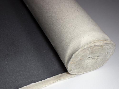 Black Primed Canvas Roll