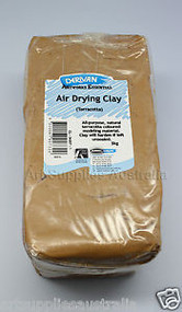 Derivan Air Drying Terracotta Clay - 2kg