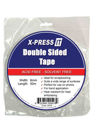 X-Press IT Double Sided Tape - 6MM