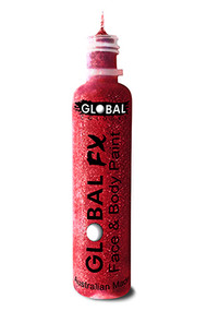 Global FX Face & Body Paint 36ml - Red
