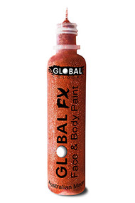 Global FX Face & Body Paint 36ml - Iridescent Red