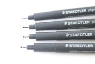 Staedtler Fineliner Pigment Liner - 0.7mm Black