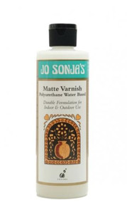 Jo Sonja's Polyurethane Water Based Matte Varnish - 250ml