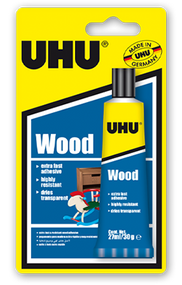 UHU Wood Glue - 27ml