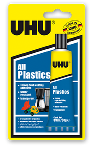 UHU All Plastics Glue - 33ml