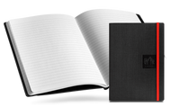 Caran D'Ache Notebook Canvas Cover A5 Lined Pages - Black   |  454.602