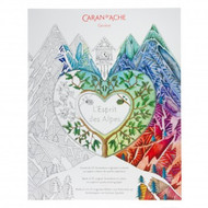Caran D'Ache Colouring Book Spirit of the Alps 25 Illustrations   |  454.200