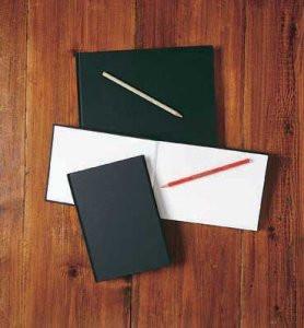 Ebony Hardback Sketchbook - A4 - Portrait
