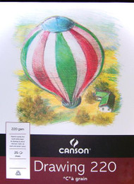 Canson 220GSM Drawing Pad - A4