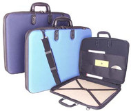 Florence Portfolio 'Moulded Case' Light Blue - A3