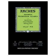 Arches Watercolour Pad Medium 185GSM - A3