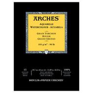 Arches Watercolour Pad Rough 185GSM - A3