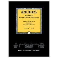 Arches Watercolour Pad Rough 185GSM - A4