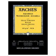 Arches Watercolour Pad Rough 185GSM - A5