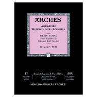 Arches Watercolour Pad Smooth 185GSM - A4