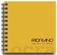 Fabriano Ocra Spiral Bound - Plain