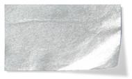 Metallic Flower Tissue Paper Pack - Silver