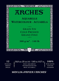 Arches Watercolour Pad Medium 185GSM - A5