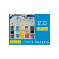 Fabriano Maxi Blocco Watercolour Studio 300GSM Pad Cold Pressed (Medium) - 27cm x 35cm