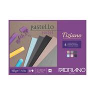 Fabriano Tiziano Pastello Pastel Brizzati Colour Pad - 21cm x 29.7cm