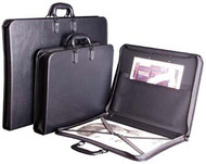 Florence Portfolio with Pocket & Elastic Strap - A1