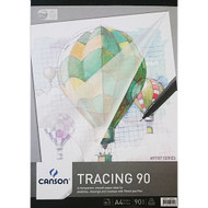 Canson 90GSM Tracing Pad - A4