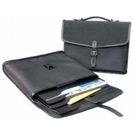 Florence Office Briefcase - Microfibre - 2 x 11 x 14""