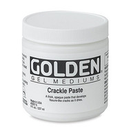 Golden Crackle Paste 236ml