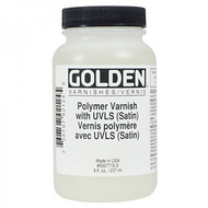 Golden Polymer Varnish with UVLS (Satin)