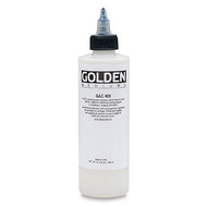 Golden GAC-400 (Heat-Set) Acrylic Medium 473ml