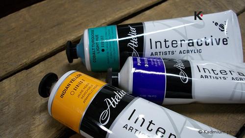 Atelier Interactive Acrylic 80ml Tubes