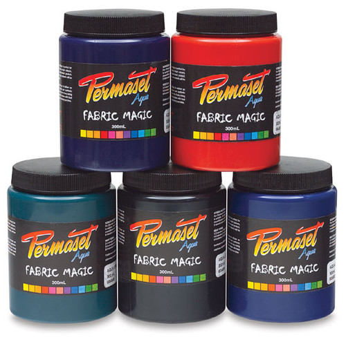 Permaset Fabric Paint Jars