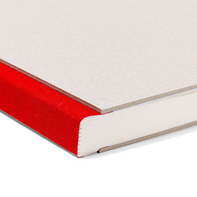 Pasteboard Cover Sketchbook - Red Binding