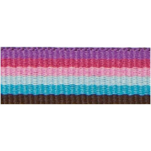 Rico Design Fabric Ribbon - Stripes, Multicolour Fashion