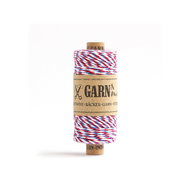 Garn & Mehr Baker's Twine - Red/Blue/White